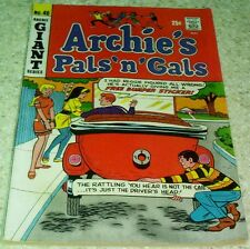 Archie's Pals 'n' Gals 46, (VF- 7.5) 1968 Giant! Archie's Jalopy! 50% off Guide!