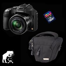 Panasonic LUMIX dmc-fz72 - pacchetto accessori + 32 GB + borsa Black Stone