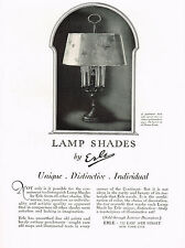 1920s BIG VINTAGE Erle New York Art Deco Lamp Shade Photo Print AD