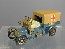 MATCHBOX MODEL OF YESTERYEAR  No.Y-13 CROSSLEY RAF  TENDER  / AMBULANCE