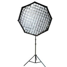 "NEEWER portable OCTAGON softbox w/ grid Bowens Mount 140cm / 55"" beehive EM#01"