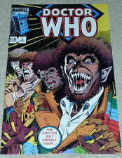 Doctor Who Marvel Comic Volume Number 3 Dogs of Doom