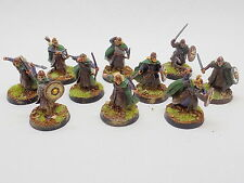 LOTR plastic WARRIORS OF ROHAN x10 Well Painted Rohirrim Helms Deep 40093