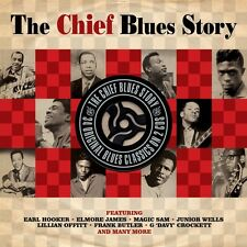 CHIEF BLUES STORY (EARL HOOKER, ELMORE JAMES, MAGIC SAM, ...) 2 CD NEU