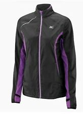 Mizuno ImpermaLite Jacket 77WS260-98 Womens Top Size Medium Black #4487