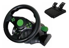 BRAND NEW - Steering Racing Wheel and Pedals Set for Xbox One / PS2 / PS3 / PC