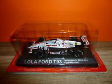 F 1 EN BOITE = LOLA FORD T93 - INDIANAPOLIS 500 MILES - NIGEL MANSELL