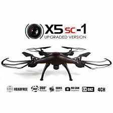Syma X5SC Upgraded New Version Syma X5SC-1 Falcon Drone HD 2.0MP Camera 4 2.4G