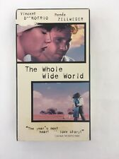 The Whole Wide World VHS 1997 Zellweger D'Onofrio Rare Indie Sundance