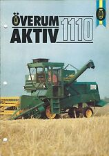 Farm Combine Brochure - Overum - AKTIV 1110 Puimuria FINNISH language (F4869)