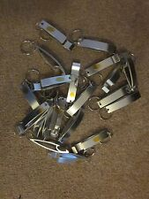 20 Bottle Opener Key Chains Free shipping!