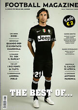 FOOTBALL MAGAZINE=N°1 2013=LEO MESSI=GUARDIOLA=ANDREA PIRLO=PANENKA=