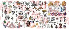 1/6 Scale Custom Tattoos: Military variety pack - Waterslide Decals