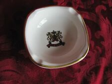 Trend Syracuse ivory china ash tray gold rim Tee 'n Turf 96-D USA