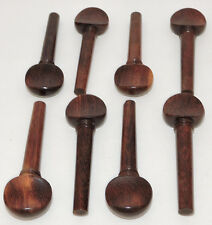 8 Rosewood Violin Pegs Violin Parts Strings Instruments Pegs Viola Parts Supply