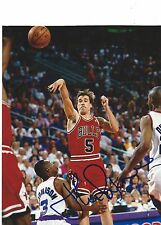 JOHN PAXSON AUTO AUTOGRAPHED 8X10 PHOTO SIGNED PICTURE W/COA CHICAGO BULLS 5