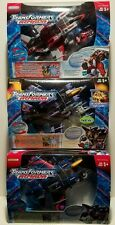 Transformers Armada Lot of 3 Advanced  Starscream Thundercracker & Skywarp MISB