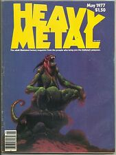 HEAVY METAL #2 (Over-the-top Sci-Fi Stories, Moebius & Corben) HM Comm., 1977
