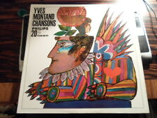 LP Yves Montand  Chansons    Philips TWEN Serie 20