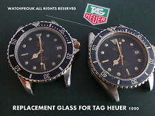 QUALITY REPLACEMENT GLASS FOR VINTAGE TAG HEUER 1000 980.020 M 980.020 L  020 N