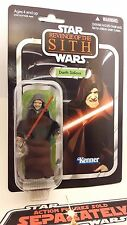 Star Wars Vintage Collection VC12 Darth Sidious 2010 Mint on card.