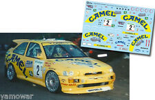 Decal 1:43 Enrico Bertone - FORD ESCORT COSWORTH - Rally El Corte Ingles 1996