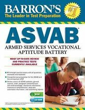NEW - Barron's ASVAB with CD-ROM, 11th Edition by Duran, Terry L.