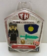 ANTVENOM TUBE HEROES ACTION FIGURE WITH WEAPONS Sword YouTube NEW Gift Idea