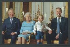La grande-bretagne 2016 hm the queen's 90th anniversaire mort pane fine used