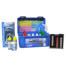 Taylor K-2006 Complete Deluxe FAS-DPD Chlorine/Bromine Pool Test Kit High Range