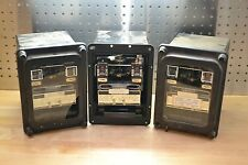 Lot of 3 GE 12IAC53B811A Very Inverse Time Overcurrent Relay 1.5-12 Amp AS-IS