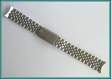 19MM ROLEX MADE in USA S. Steel - BIG CROWN - Oval Jubilee Bracelet   22 links