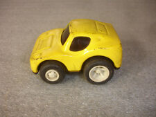 Old Vtg Collectible Tonka Pressed Yellow Toy Car Vehicle Made in Japan