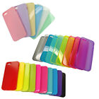 TPU Silicone Cell Case Soft Color Crystal Skin Cover for Apple iPhone 5 5S Lot
