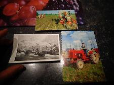 Ancien Tracteur Babiole Multi Baby 203 Hesston Tractor Coton Harvester & Deutz ?