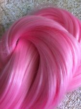 Light Pink Hair Extension Weave/Weft Color #Pink2 Heat Styling Synthetic 30""