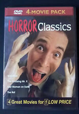 Horror Classics Volume 11 - 4-Movie Pack (DVD, 2004) WORLD SHIP AVAIL