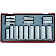 "Teng TT3816 3/8"" Drive Deep Metric Socket Set in Tool Box Module Tray"