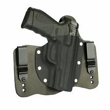 FoxX Holsters Leather & Kydex IWB Hybrid Holster Taurus 24/7 G2 Black Right