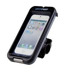 Heavy Duty Waterproof Case Holder w/ Bike Cycle Handlebar Mount for Smart Phone
