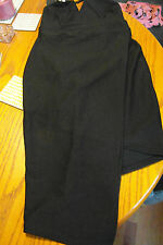 LADIES LITTLE BLACK DRESS CROSS OVER DESIGN SIZE 12 FROM BOOHOO NIGHTS