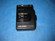 Sony Walkman AM/FM Stereo Cassette Player WM-F2065