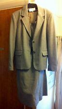 Ladies BHS Skirt suit  herringbone grey tones long Skirt10-12 new  /16 Jacket