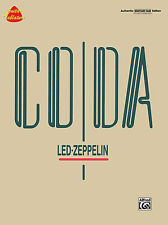 LED ZEPPELIN CODA GUITAR TAB SONG BOOK NEW JIMMY PAGE