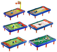6-in-1 Mini Sports TableTop Game Soccer Bowling Billiards Hockey Golf BBall 16""
