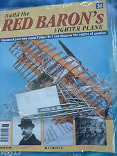 BUILD THE RED BARON'S FIGHTER PLANE FOKKER DR1  HACHETTE  ISSUE  36  NEW SEALED