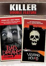 Bad Dreams/Visiting Hours (DVD, 2011, 2-Disc Set) ~ Killer Double Feature ~ Used