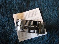 """Cuff Bracelet #52575-3 """"Ward Willits"""" Frank Lloyd Wright Inspired Design NWT"""