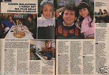 Coupure de presse Clipping 1986 Daniel Balavoine   (2 pages)
