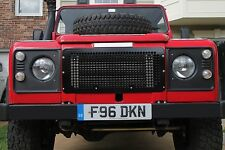 Land Rover Defender 90 110 130: Front Grille (solid milled aluminum grill metal)